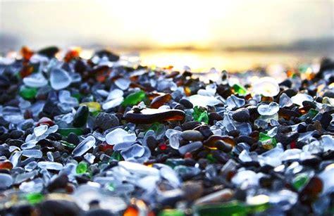 beach of glass coup de coeur glass beach la plage de verre fort