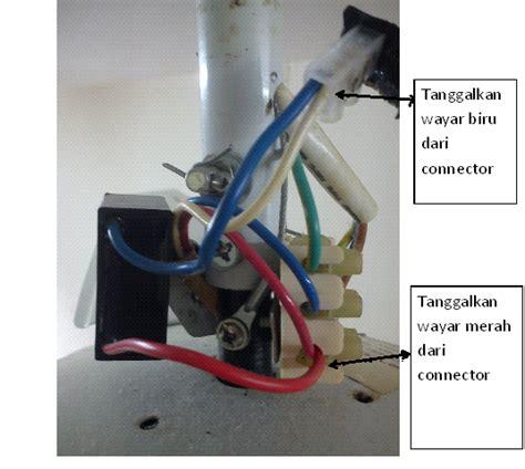 sambungan kabel kapasitor kipas angin pendawaian elektrik rumah kediaman kipas angin semakin perlahan