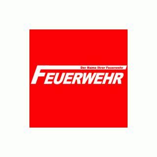 Aufkleber Feuerwehr Klein by Aufkleber Feuerwehr Mit Wunschtext 25 00