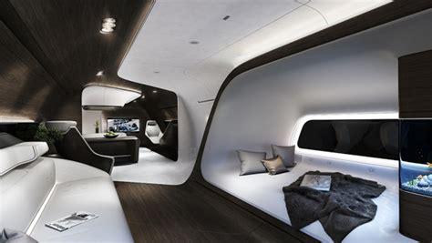 aircraft interior design mercedes designs luxury aircraft interior for lufthansa