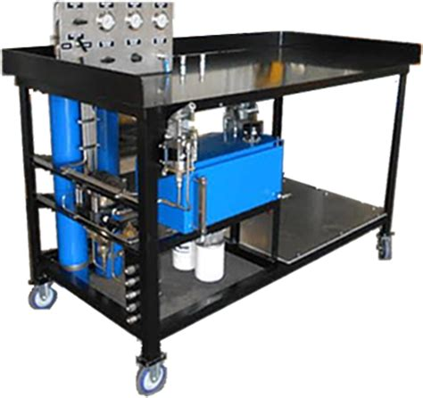hydrostatic test bench hydrostatic testing houston