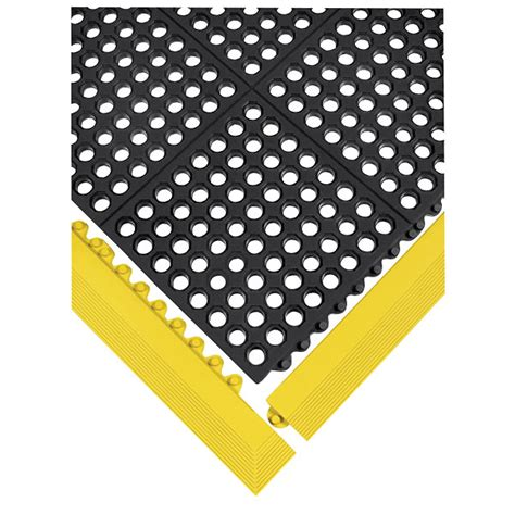 Wearwell Mat by Wearwell 24 Seven Industrial Anti Fatigue Mat Rubber 3 Ft