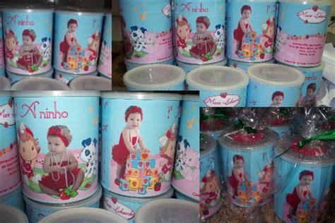 lata decorada tipo saquinho 3l gifts latas nan tema moranguinho baby
