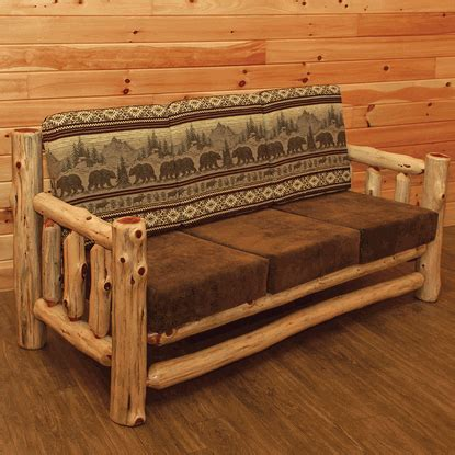 log couches wildwood rustics red cedar log sofa