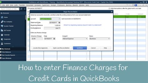 quickbooks tutorial entering credit card charges how to record credit card finance charges in quickbooks