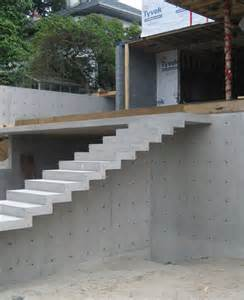 treppe betonieren cypress cant concrete stair 171 home building in vancouver