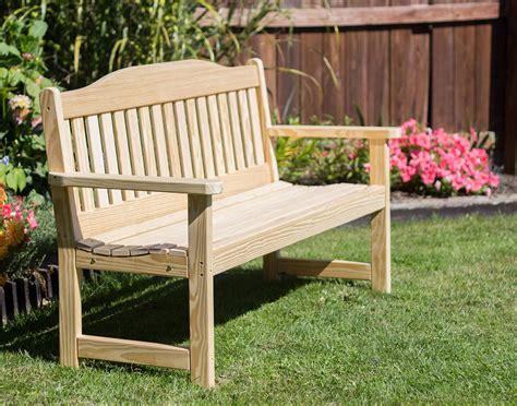 english garden bench treated pine english garden bench