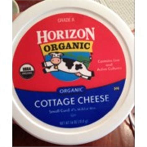 horizon cottage cheese calories nutrition analysis