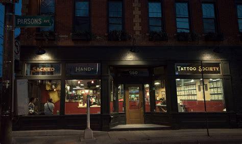 tattoo shops in columbus ohio sacred society big meas