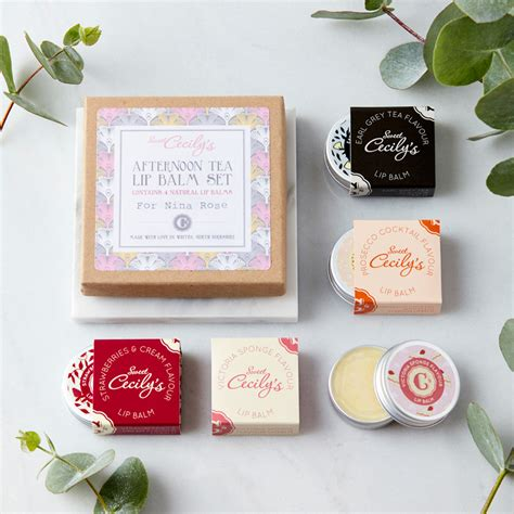 afternoon tea gifts afternoon tea lip balm set sweet cecily s