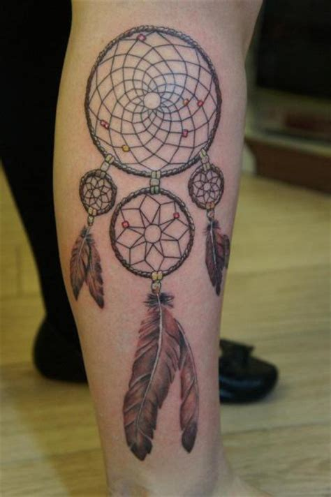 small leg dreamcatcher tattoo 64 best and simple dreamcatcher tattoos