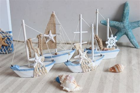 boat decor for home aliexpress com buy mini wooden sailing for home