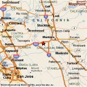 map of tracy california tracy california