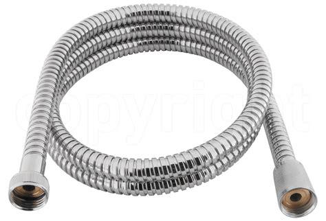 shower hoses for baths crosswater shower hose 13mm x 1 5m chrome sh970c