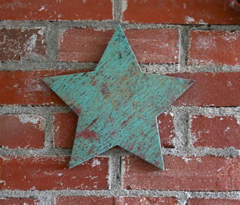 rustic star home decor turquoise star star wall decor rustic star barn star