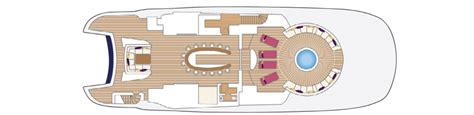 yacht solandge layout general arrangement deck layout yacht solandge