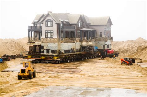 Chappaquiddick House Move The Vineyard Gazette Martha S Vineyard News Schifter House Move Begins