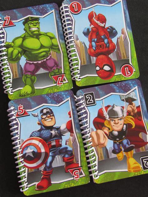 Avenger Note Book mini notebook journal comic set of 8 captain america marvel squad on luulla