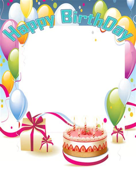 happy birthday photo frame template free happy birthday frame newsoftonlineapps
