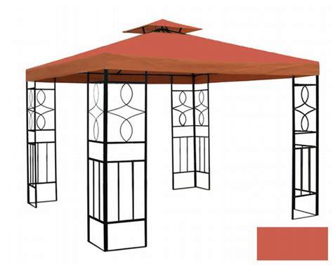 pavillon wasserfest pavillon romantika metall inkl dach wasserfest