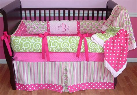 pink and green baby bedding 150 best images about baby girl bedding sets on pinterest damasks plush and baby