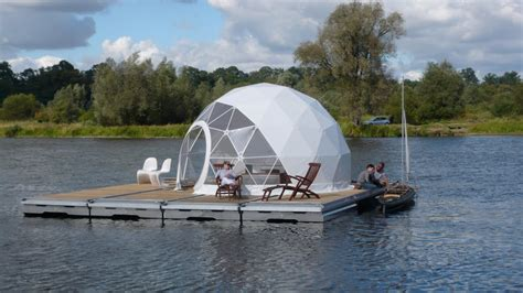 plateforme raptor boat floating dome home tiny houses pinterest tiny house