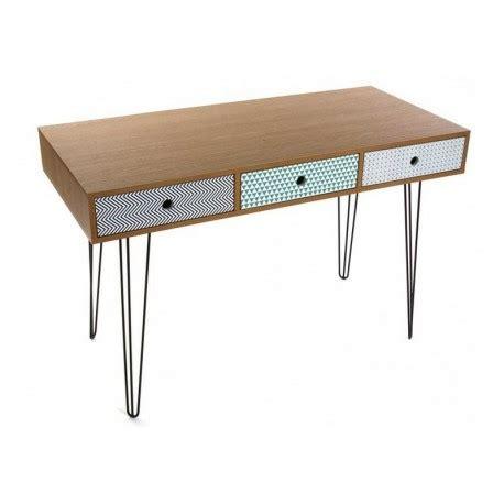 Tableau Deco Chambre 5898 by Table De Bureau Design Scandinave 3 Tiroirs Multicolores