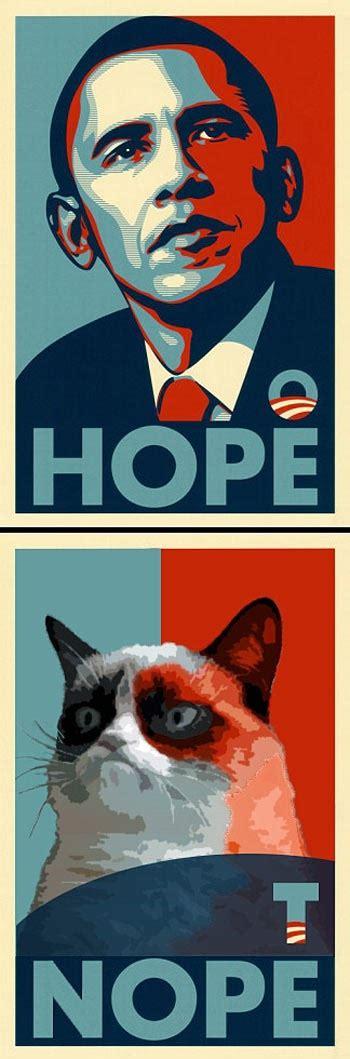 Hope Meme - hope nope grumpy cat know your meme