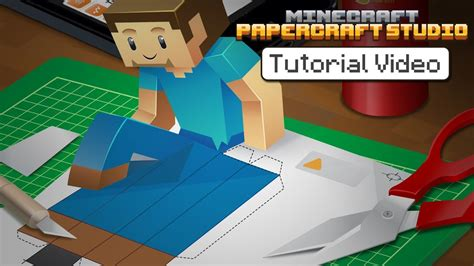 Minecraft Papercraft Tutorial - tutorial minecraft papercraft studio