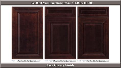 cherry cabinet door styles  finishes maryland kitchen cabinets discount kitchen