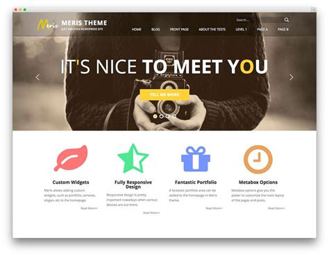 theme bootstrap free portfolio 25 best free wordpress themes built with bootstrap 2017