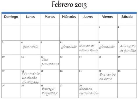 Ejemplos De Calendarios Hoja De Vida Ejemplo New Style For 2016 2017