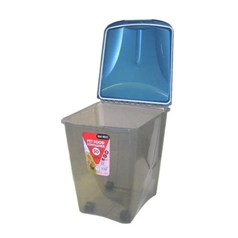 buy food storage containers buy ness pet food storage container 50lb 22kg