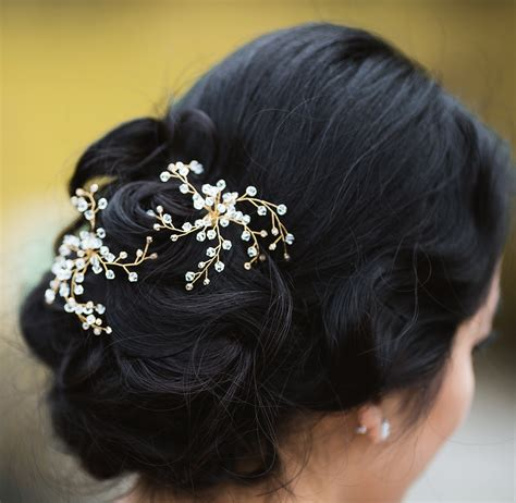 hairs pins with bead to decorate hairs prom hair