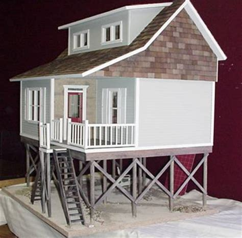 beach doll house folly beach milled in dollhouse kit 230 00 miniature dollhouses doll house