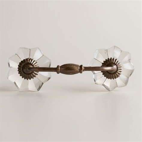 Picture Hanging Knobs by Clear Watermelon Drawer Pulls Set Of 2 World Market