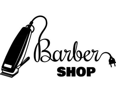 barber logo 2 salon shop haircut hair cut groom grooming