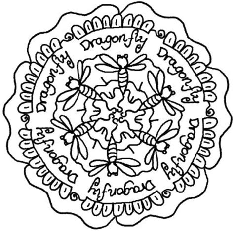 dragonfly mandala coloring pages dragonfly pictures to print coloring home