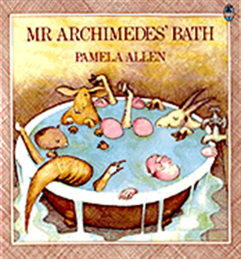 mr archimedes bath picture 0140501622 archimedes book list
