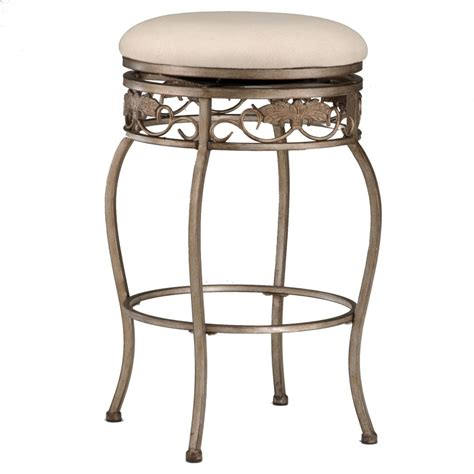 bar stool s traditional natural polished iron barstool without bacrest