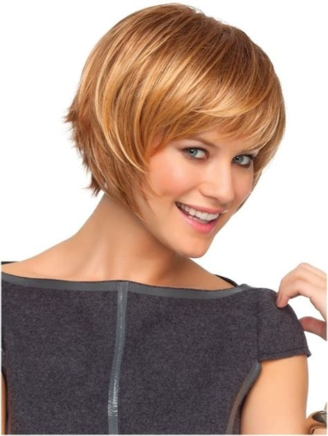 short hairstyles with side swept bangs for women over 50 cute short blonde hair with side swept bangs popular