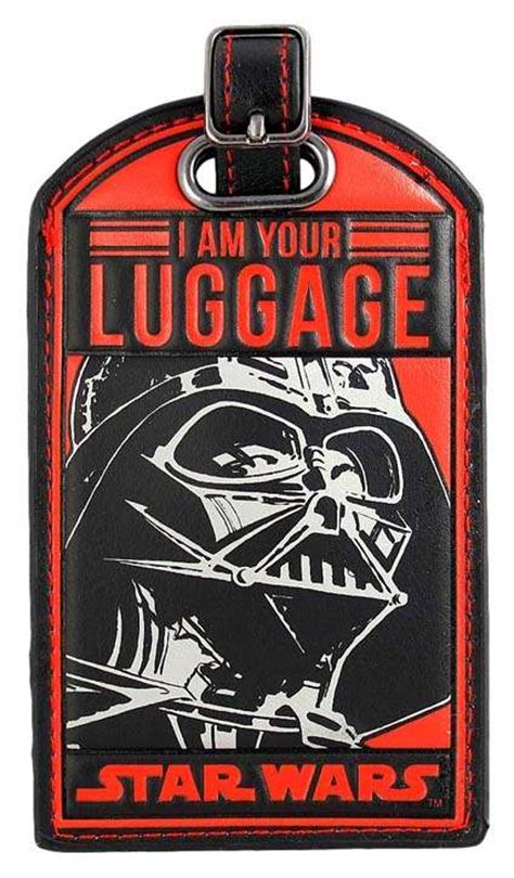 wars tags wars i am your luggage darth vader luggage tag ebay