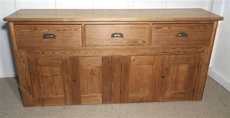 pine farmhouse kitchen dresser base antiques