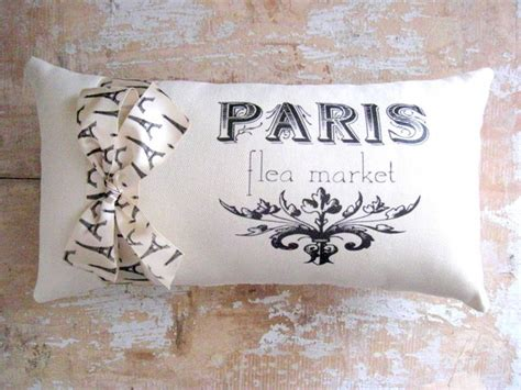 french pillows home decor paris pillow french decor cottage french country home
