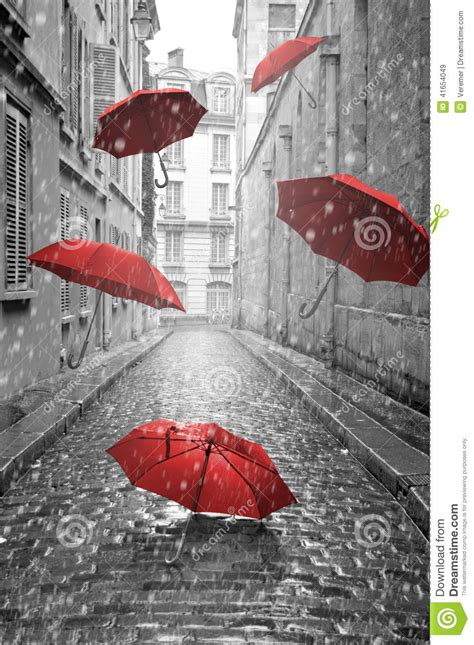 X2 3746 St Umbrella umbrellas flying on the conceptual image stock illustration illustration of avenue