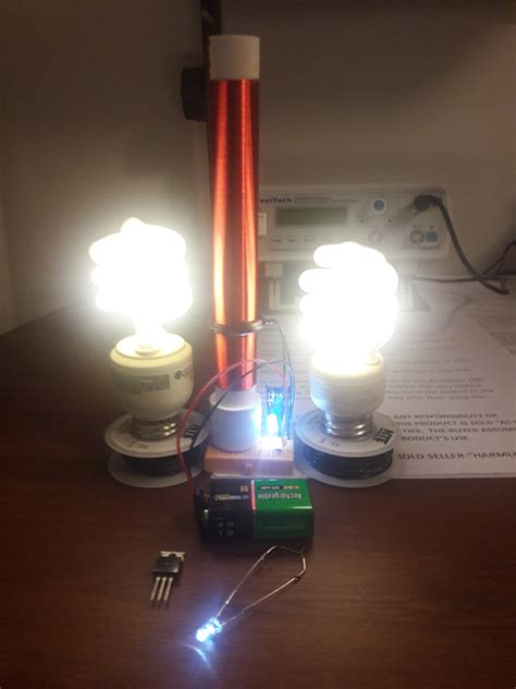 Tesla Coil Mini Fully Assembled Mini Tesla Coil Slayer Exciter Mad From