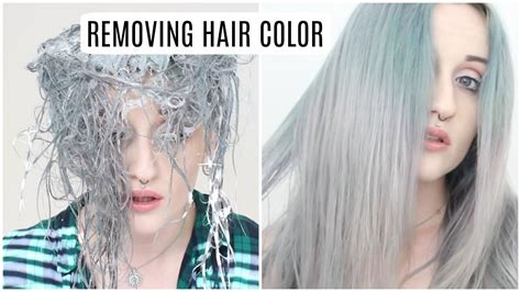 remove semi permanent hair color how to remove semi permanent hair color removing semi