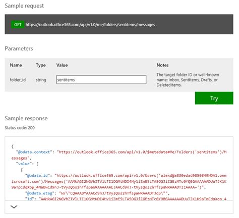 Office 365 Mail Api C Announcing C Support In The Api Sandbox For Office 365