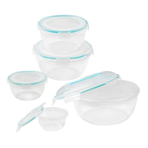 snapware containers snapware airtight food storage set 10 1113706 the home depot