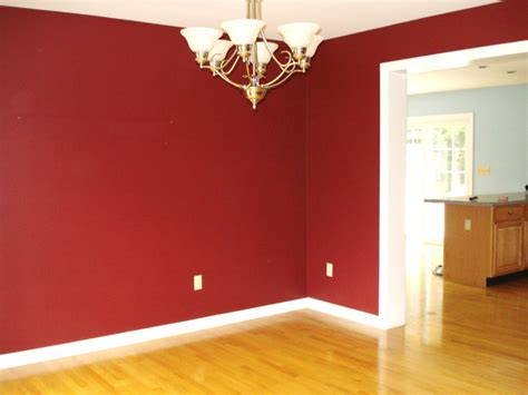 Maroon Wall Paint | heart maine home the sitting room is painted